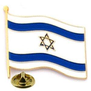 Pin bandera de Israel