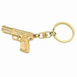 Llavero personalizado pistola