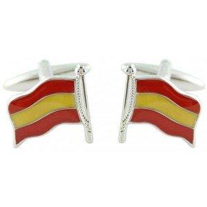 Pins y gemelos bandera España
