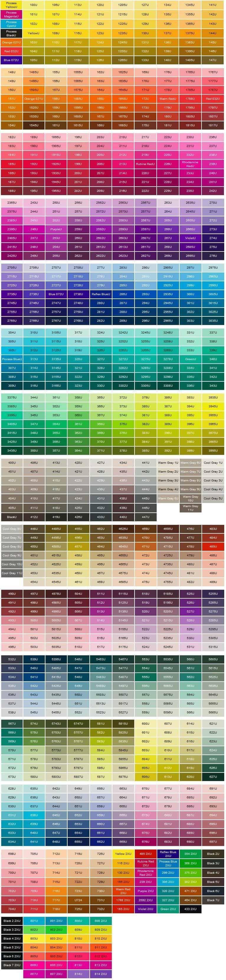 Colores de nuestros pins